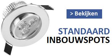 STANDAARD LED INBOUWSPOTS