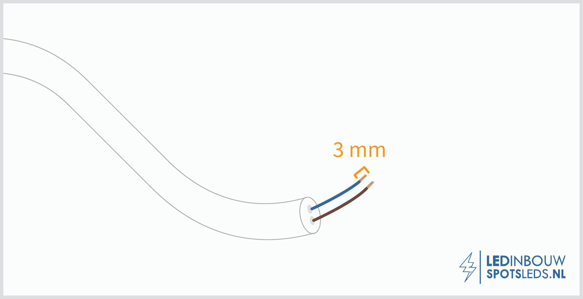 LED inbouwspots installeren - stap 3
