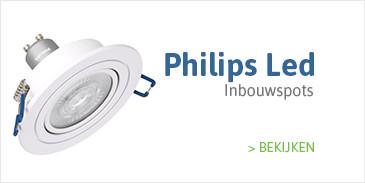 Philips LED Inbouwspots kopen