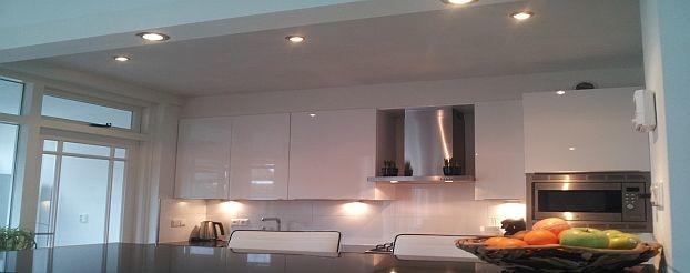 Led inbouwspots als keukenverlichting