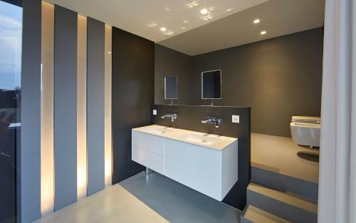 Badkamer LED inbouwspots Amsterdam IJburg