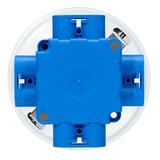 LED Opbouw Spot voor Vierkante Centraaldoos Dimbaar Wit_