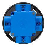 LED Opbouw Spot voor Vierkante Centraaldoos Dimbaar Zwart_