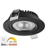 230 Volt LED Inbouwspot Zwart_