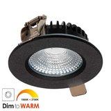 LED Inbouw Spot 7 watt Zwart_