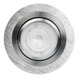 Philips GU10 LED Inbouwspot Inês Aluminium Geborsteld_