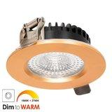 LED Inbouw Spot 7 watt Messing_