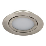 12 t/m 24 Volt Extreem lage LED Inbouwspot Nikkel_