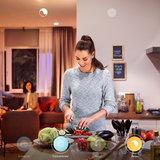 HUE Philips White & Color GU10 LED Inbouwspot Barcelona Zwart_