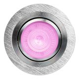 HUE Philips White & Color GU10 LED Inbouwspot Inês Aluminium Geborsteld_