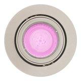 HUE Philips White & Color GU10 LED Inbouwspot Madrid Satijn Nikkel_