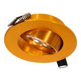 Inbouw LED Spot Dimbaar Goud_