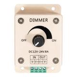 LED Opbouw Dimmer met draaiknop 12 - 24 Volt_