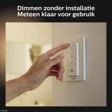 HUE Philips Ambiance GU10 LED Inbouwspot Elisa Zwart_