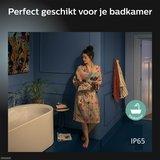 HUE Philips White & Color GU10 LED Inbouwspot Elisa Zwart_