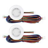 """Set van 2 stuks """"Touch Functie"""" cabinet Inbouw LED spot Dimbaar Wit_"""