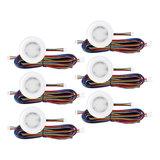 """Set van 6 stuks """"Touch Functie"""" cabinet Inbouw LED spot Dimbaar Wit_"""