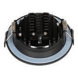 230 Volt Moderne Sfeervolle LED Inbouwspot Dimbaar Zwart_
