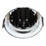 230 Volt Moderne Sfeervolle LED Inbouwspot Dimbaar Chroom_