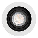 Philips Dim Tone LED Inbouw spot 4,9 watt kantelbaar 50 mm rond wit met zwart_