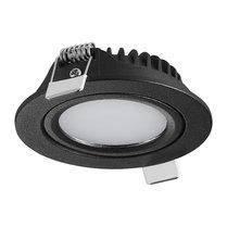 230 Volt LED Inbouw Spot Dimbaar Zwart