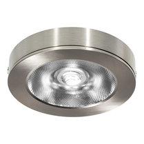 LED Opbouw Spot voor Vierkante Centraaldoos Dimbaar Nikkel