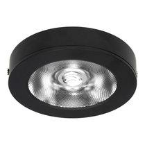 LED Opbouw Spot voor Vierkante Centraaldoos Dimbaar Zwart