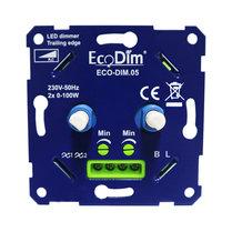 DUO Inbouw LED Dimmer 230 Volt Exclusief Afdekraam