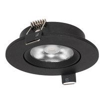 Inbouw LED Spot Dimbaar Zwart