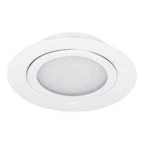 12 t/m 24 Volt Extreem lage LED Inbouwspot Wit