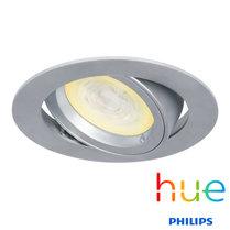 HUE Philips Ambiance GU10 LED Inbouwspot Madrid Zilver Grijs