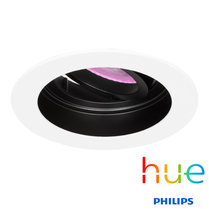 HUE Philips White & Color GU10 LED Inbouw spot Sao Paulo Wit