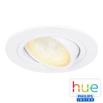 HUE Philips Ambiance GU10 LED Inbouwspot Inês Wit