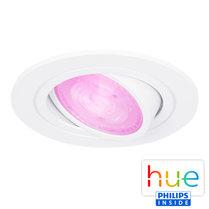 HUE Philips White & Color GU10 LED Inbouwspot Inês Wit