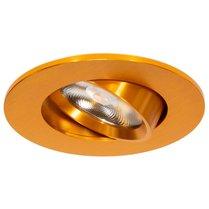 Inbouw LED Spot Dimbaar Goud