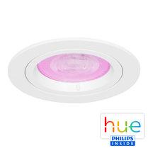 HUE Philips White & Color GU10 LED Inbouw Spot Amsterdam Wit