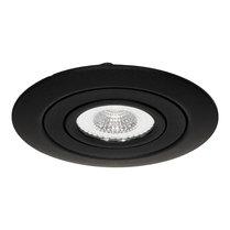 230 Volt LED Inbouw Spot Dimbaar Zwart | XL