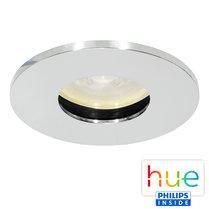 HUE Philips Ambiance GU10 LED Inbouwspot Elisa Chroom