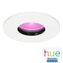 HUE Philips White & Color GU10 LED Inbouwspot Elisa Wit