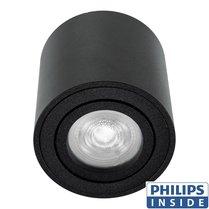 Philips GU10 LED Opbouwspot Rome Zwart