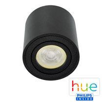 HUE Philips Ambiance GU10 LED Opbouwspot Rome Zwart