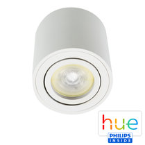HUE Philips Ambiance GU10 LED Opbouwspot Rome Wit