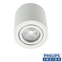 Philips GU10 LED Opbouwspot Rome Wit