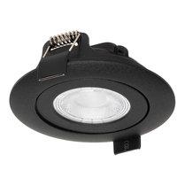 230 Volt Stijlvolle Design Inbouw LED Spot Dimbaar Zwart