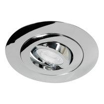 230 Volt Design Inbouw LED Spot Dimbaar Chroom met Extra Grote Zaagmaat Ø 70 t/m 124 mm