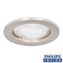 Philips GU10 LED Inbouw Spot Berlin Satijn Nikkel