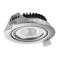 230 Volt LED Inbouw Spot Dimbaar Nikkel