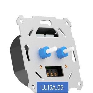Duo Dimmer 0-100 Watt Alleen Fase Afsnijding Geheel Geruisloze Dimmer 100% Knipper Vrij Dimmen Van al uw LED verlichting