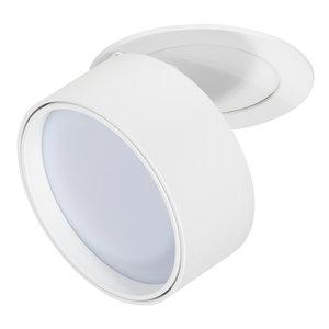 Dimbare LED Inbouw Spot 230 Volt Draaibaar Wit