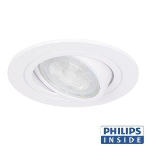 Philips LED Inbouw spot 5 watt kantelbaar 50 mm rond wit